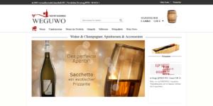 Weguwo Wein mit Geschmack