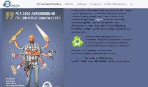 Webseite von Ech Allround Handwerker
